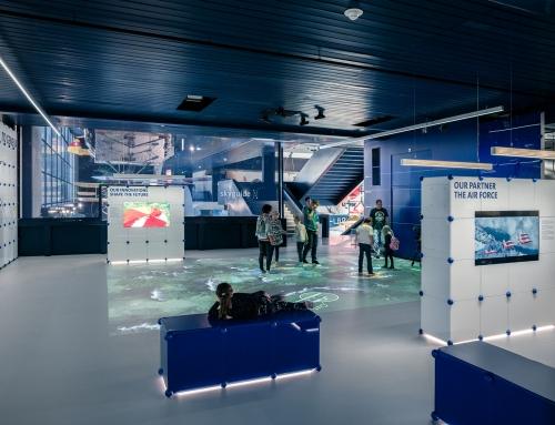 Ausstellung Skyguide im Verkehrshaus Luzern