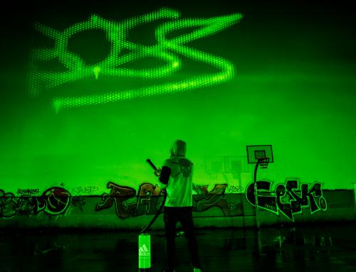Event Adidas Spraypainter