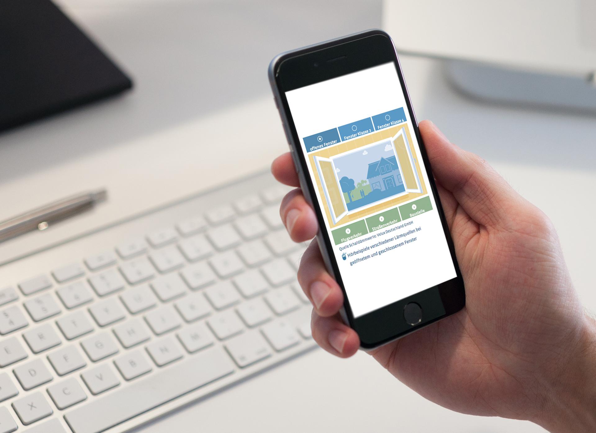 Touchscreen-Interaction